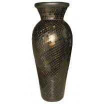 15287 Ваза Керамика Черна 1М